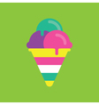 Ice cream Icon Candy Candy Icon vector image vector image