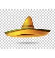 Mexican Sombrero Hat transparent background