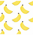 pattern with bananas vector image