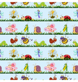 various insects vector image vector image