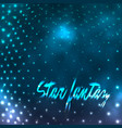 star dotted vector image