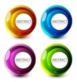 abstract swirl set vector image vector image