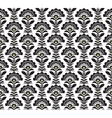 Black and white Retro pattern formate vector image vector image