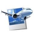 Cartoon Airliner vector image