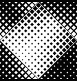 monochrome seamless square pattern background vector image vector image