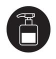 pump bottle icon vector image vector image