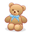 Simple Teddy Bear vector image vector image