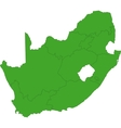 South Africa map vector image vector image