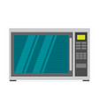 microwave icon in flat style vector image