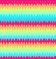 colorful wavy lines pattern-08 vector image vector image