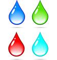 Drop vector image vector image