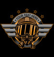 Fighter pilot logo