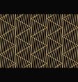 geometric line ornament seamless pattern modern vector image vector image