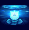 internet security technology concept background vector image vector image