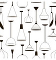 lamps sign set for interior pattern vector image