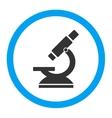 Microscope Rounded Icon