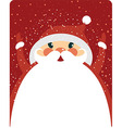 Santa Claus with copy space vector image vector image