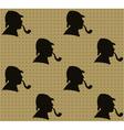 Sherlock Holmes Pattern vector image