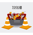 Tools design vector image vector image