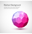 Abstract 3-dimensional background vector image vector image