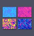 abstract neon modern futuristic creative design vector image