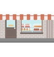 Background of bakery vector image