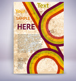 Brochure and Flyer Template vector image vector image