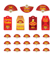 Chinese New Year Sale Tag and label vector image vector image