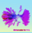 eps 10 explosion watercolor clouds on a light vector image