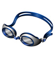 Goggles vector image vector image
