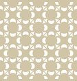 golden ornament pattern in asian style vector image vector image
