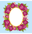 Greeting card invitation banner Frame for your vector image vector image