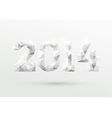 New year 2014 vector image vector image