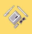office supplies design vector image