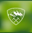 outdoor logo vector image vector image