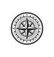 rose winds nautical compass navigator vector image vector image