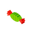 sweet candy isometric object vector image