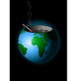 We are polluting the earth vector image vector image