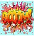 boom vector image vector image