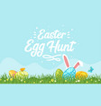 happy easter design template vector image vector image