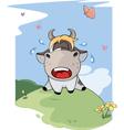 I small lost cow Cartoon vector image vector image