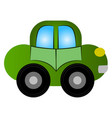 isolated car toy vector image