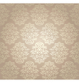 retro damask wallpaper vector image vector image