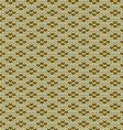 seamless knitted wool pattern vector image