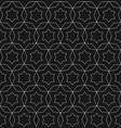 subtle black texture oriental seamless ornament vector image vector image