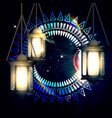 the concept of ramadan vector image