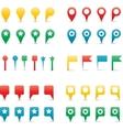 map pins gradient vector image
