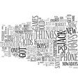are toys for men or for boys text word cloud vector image vector image