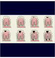 bad tooth vector image vector image
