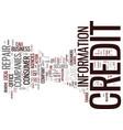 beware of bogus credit repair companies text vector image vector image